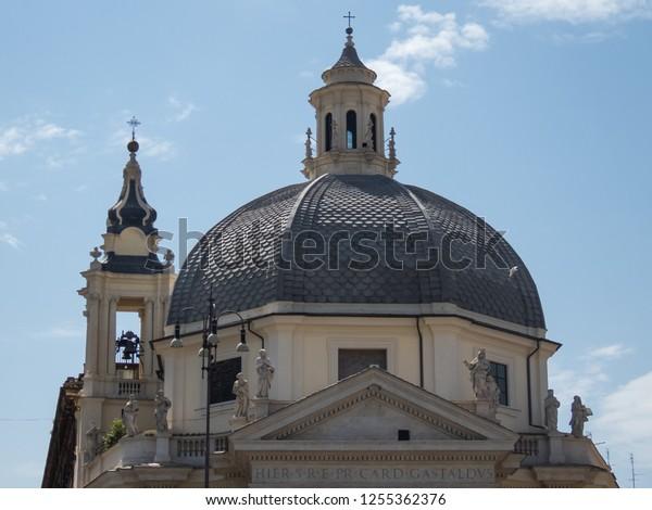 Rome Capital Italy April 29 2018 Stock Photo (Edit Now
