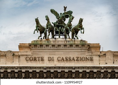 Rome corte di cassazione palace high justice in Italy