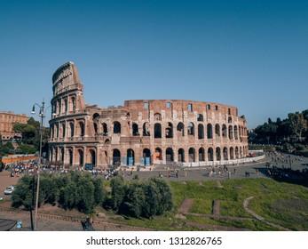 """""""Rome, Italy - 09 23 2018"""": Colloseum in Rome"""
