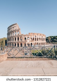 """""""Rome, Italy - 09 24 2018"""": Colloseum in Rome on a sunny day"""