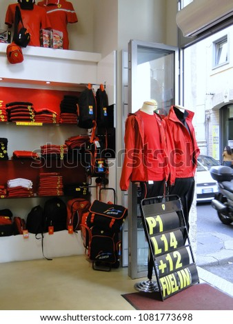Rome Italy 09192011 Old Ferrari Shop Stock Photo (Edit Now ... 235aefa7a
