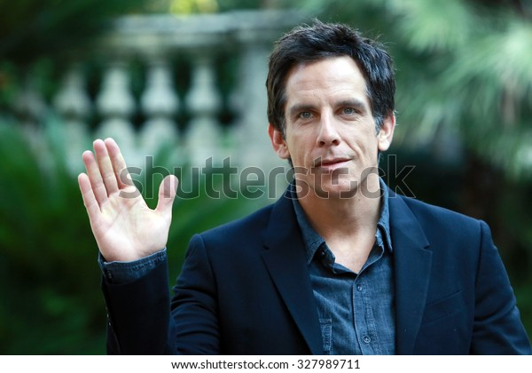 "ROME, ITALY - 13 December 2013: The actor Ben Stiller: photocall for the movie ""Mitty""  at the hotel De Russie in Rome"