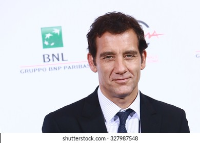 ROME, ITALY - 17 October 2014: Actor Clive Owen: Photocall during the 9th Rome Film Festival