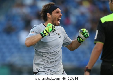 Rome, Italy 17 september 2016:   Marchetti in action during the italian Serie A league match between As Lazio and Pescara at Olimpic Stadium on Seprember 17, 2016 in Rome  Italy.