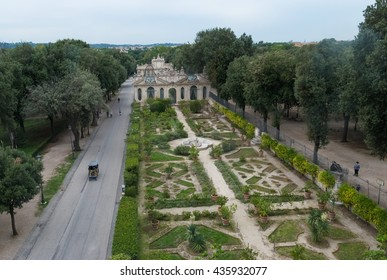 ROME, ITALY - 30 SEPTEMBER 2015 - A visit at Galleria Borghese (in english: Borghese Gallery), a fomous art gallery in Rome, Italy, housed in the former Villa Borghese park.
