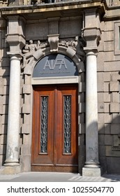 ROME, ITALY - APRIL 12, 2014: The Italian Medicines Agency (AIFA) is the national authority responsible for drugs regulation in Italy.