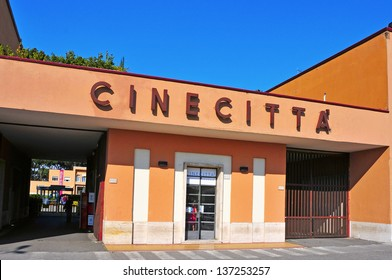 ROME, ITALY - APRIL 19: Cinecitta Studios on April 19, 2013 in Rome, Italy. Since the days of Ben-Hur, filmed in there, the studios have welcomed international productions such as Gangs of New York