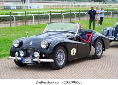 steering wheel set vintage classic car stock photo edit now