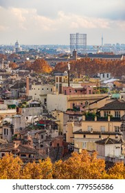 Rome (Italy) - The cityscape from Castel Sant'Angelo monument