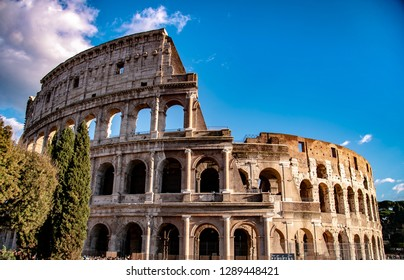 Rome, Italy. The Colosseum