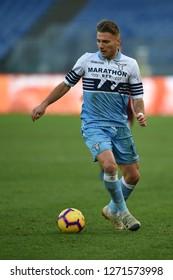 Rome Italy, December 29th, 2018: football Serie A match between Lazio vs Torino at Olimpic Stadium.In the pic: Ciro Immobile of LAZIO