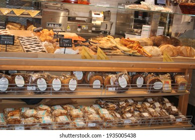 Rome, Italy, Europe - 13 march 2021: bakery in the supermarket.
