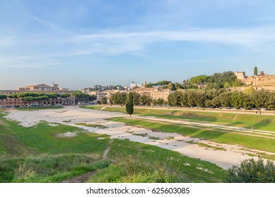 Rome, Italy. Evening view of the Great Circus