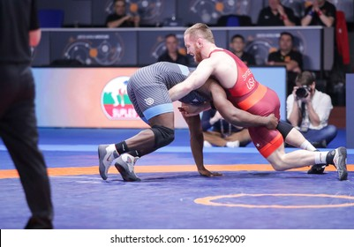 Rome, Italy, January 17 2020 kyle snyder (usa) category fs 97 kg during 1° Ranking Series International Tournament - Day3 Wrestling