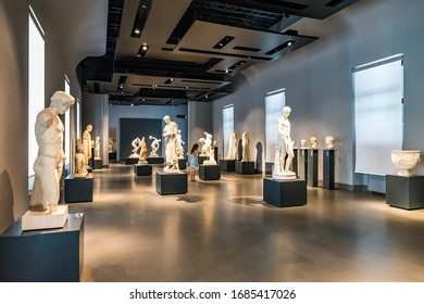 ROME, ITALY - JUNE 14, 2019: The National Roman Museum (Museo Nazionale Romano) is a popular tourist attraction in Rome, Italy.