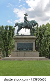 ROME, ITALY - JUNE 30, 2014: Equestrian Statue of King Carlo Alberto Monument in Rome, Italy.