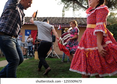 Rome, Italy: La Cueca Chiloé, the typical Chilean dance - September 30, 2017