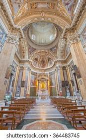 ROME, ITALY - MARCH 26, 2015: The in church Chiesa di Santa Maria ai Monti.