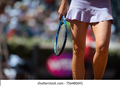 ROME, ITALY - MAY 15 : Maria Sharapova at the 2017 Internazionali BNL d'Italia WTA Premier 5 tennis tournament