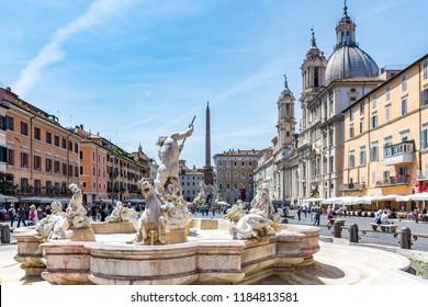 Rome, Italy - May 16 2018: The Italian Capital.