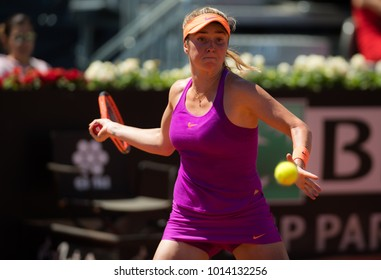 ROME, ITALY - MAY 17 : Elina Svitolina at the 2017 Internazionali BNL d'Italia WTA Premier 5 tennis tournament