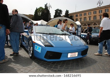 Rome Italy May 17 Italian Police Stock Photo Edit Now 168216695
