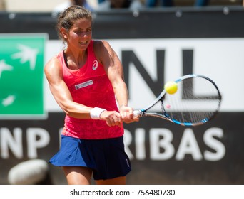 ROME, ITALY - MAY 17 : Julia Goerges at the 2017 Internazionali BNL d'Italia WTA Premier 5 tennis tournament