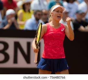 ROME, ITALY - MAY 18 : Daria Gavrilova at the 2017 Internazionali BNL d'Italia WTA Premier 5 tennis tournament