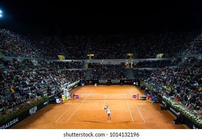 ROME, ITALY - MAY 19 : Ambiance at the 2017 Internazionali BNL d'Italia WTA Premier 5 tennis tournament