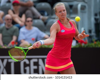 ROME, ITALY - MAY 19 : Kiki Bertens at the 2017 Internazionali BNL d'Italia WTA Premier 5 tennis tournament
