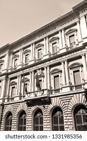 Rome, Italy. Ministry of Agriculture and Forestry - governmental building.