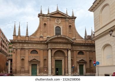 ROME, ITALY - SEPTEMBER 2, 2019: Chiesa di Santa Maria dell'Orto