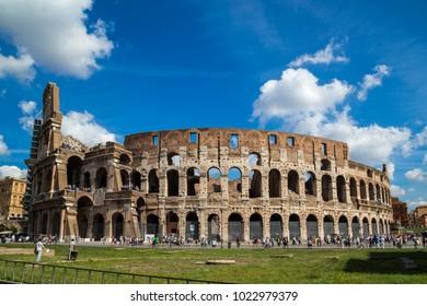 Rome, Italy September 25, 2013 The Colosseum, originally known as Amphitheatrum Flavium