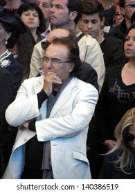 ROME - MAY 30: Tony Little's funeral at the shrine of Divine Love,Al Bano.  Italy, 30 May 2013, Rome