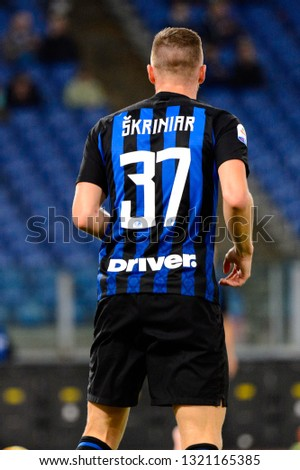 27017d3a1 ROME OCT 29 2018 Milan Skriniar Stock Photo (Edit Now) 1321165385 ...