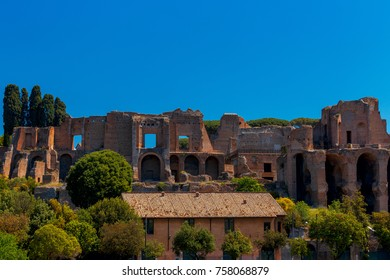 Rome. The Palatine Hill.