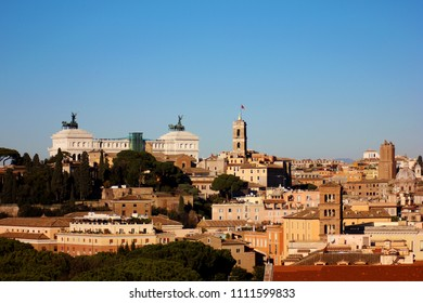 Rome panoramic city