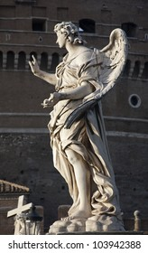 Rome - Ponte Sant'Angelo, Angel with the Nails