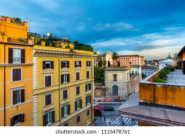 Rome roof view.
