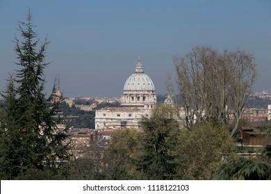 Rome - San Pietro - Gianicolo hill