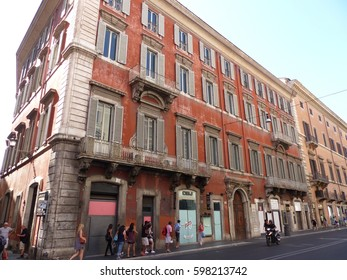 Rome / Streets of Rome / picture showing some of the places in Rome, its streets, buildings and architecture. Taken in August 2015.