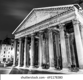 Rome tourist attraction - the famous Pantheon