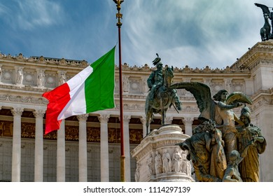Rome unknow soldier vittoriano palace view