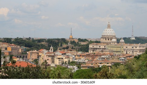Rome, view from Gianicolo