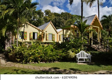 Romney Manor, Basseterre, Saint Kitts and Nevis, Caribbean Sea