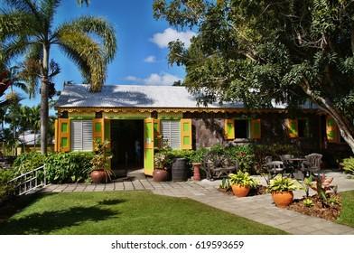 Romney Manor, Basseterre, Saint Kitts and Nevis, Caribbean Sea