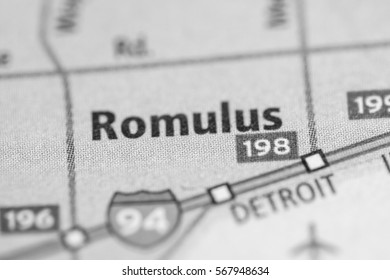 Romulus. Michigan. USA