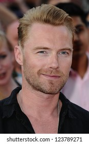"Ronan Keating arriving for the premiere of ""Keith Lemon: The Film"" at the Vue Cinema, Leicester Square, London. 21/08/2012. Picture by: Steve Vas"