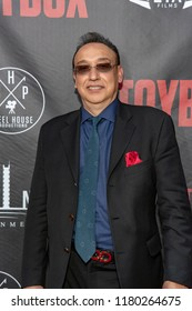 """Ronnie D. Lee attends  Skyline Entertainment's  """"The ToyBox"""" Los Angeles  Premiere at Laemmle's NoHo 7, North Hollywood, California on September 14th, 2018"""