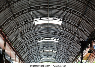 Roof with Aluminum Foil Insulation.